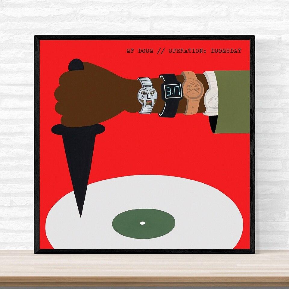 MF Doom operación Doomsday Poster 2015 edición de lujo álbum cubierta de música cartel impreso en lienzo hogar Decoración de pared arte sin marco