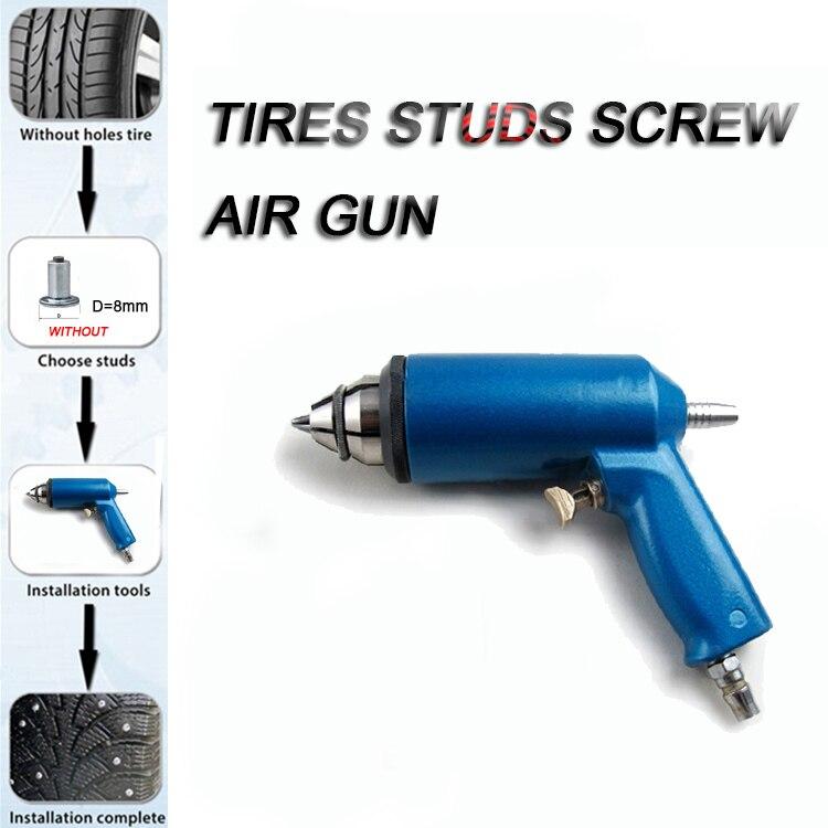 Car Repair Install Tool For 8 MM Bottom Diameter Stud Screw Anti-Slip Screw Stud Wheel Tyre Snow Tire Spikes