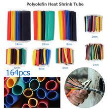 520 pièces thermorétractable tube kit isolation gaine termoretractil polyoléfine rétrécissement assortiment thermorétractable tube fil câble