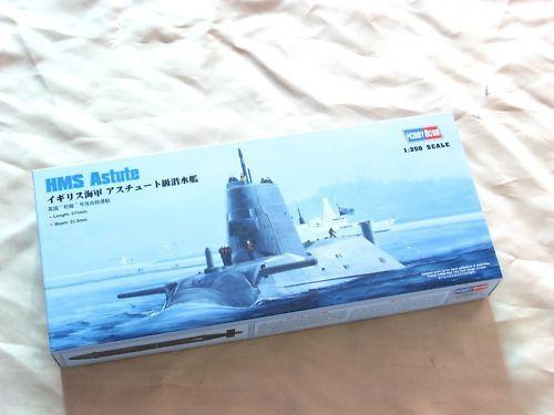 Trumpeter 83509 1/350 масштаб HMS атомная атака подводная лодка статическая модель комплект TH05751-SMT2