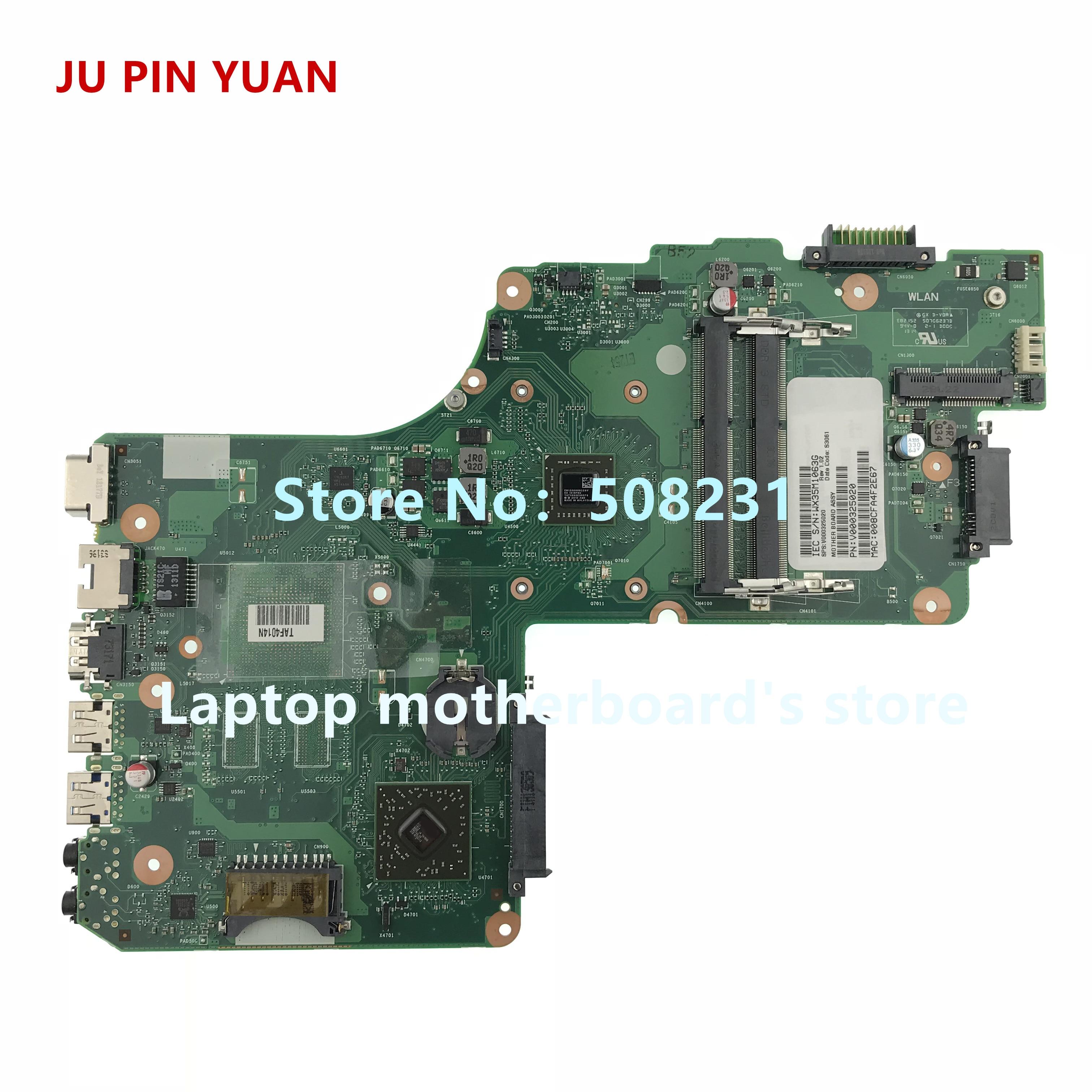 جو دبوس يوان V000325020 اللوحة لتوشيبا C50D C50D-A C55D-A C55D-A5201 اللوحة المحمول 6050A2565601-MB-A02