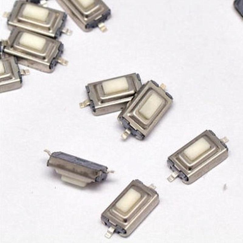 1000 unids/lote 3x6x2,5mm Interruptor táctil SMD 2 pines interruptor micro/botón tipo momentáneo