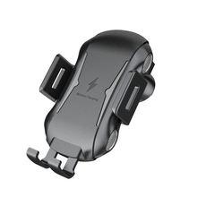 تشى سيارة شاحن لاسلكي حامل هاتف ل Ulefone درع X 6 الطاقة 5 5S Leagoo الطاقة S10 5 سريع اللاسلكية شحن حامل هاتف