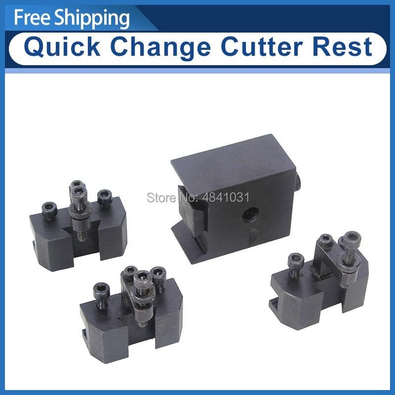 Quick Change Cutter Rest/Lathe tool holder/SIEG S/N:10011 C2/SC2/C3 tool rest