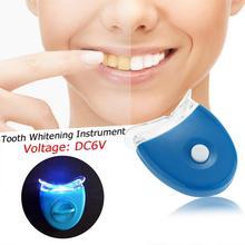 Dents dentaires blanchissant la lumière LED blanchiment des dents blanchiment des dents Machine Laser outil de soins dentaires outils de soins Gel dentifrice Kit