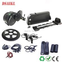 BB 68mm 100mm 120mm 36V 250W 350W 500W BBS01 BBS02B Bafang mid drive moteur kit avec 36V 13Ah down tube ebike batterie