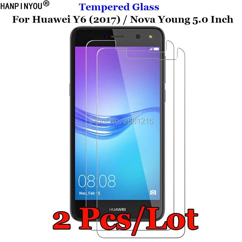 2 Pcs/Lot For Huawei Y6 (2017) / Nova Young 5.0