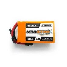 CNHL MiniStar 5S 18.5V 1800mAh 100C batterie Lipo avec prise XT60 pour Drone RC FPV Racing