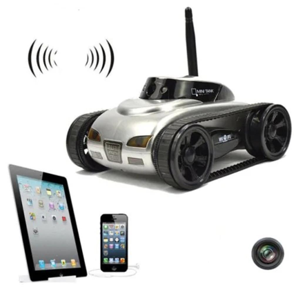 RCtown Video de transmisión en tiempo Real Wifi tanque RC coche con cámara de juguete