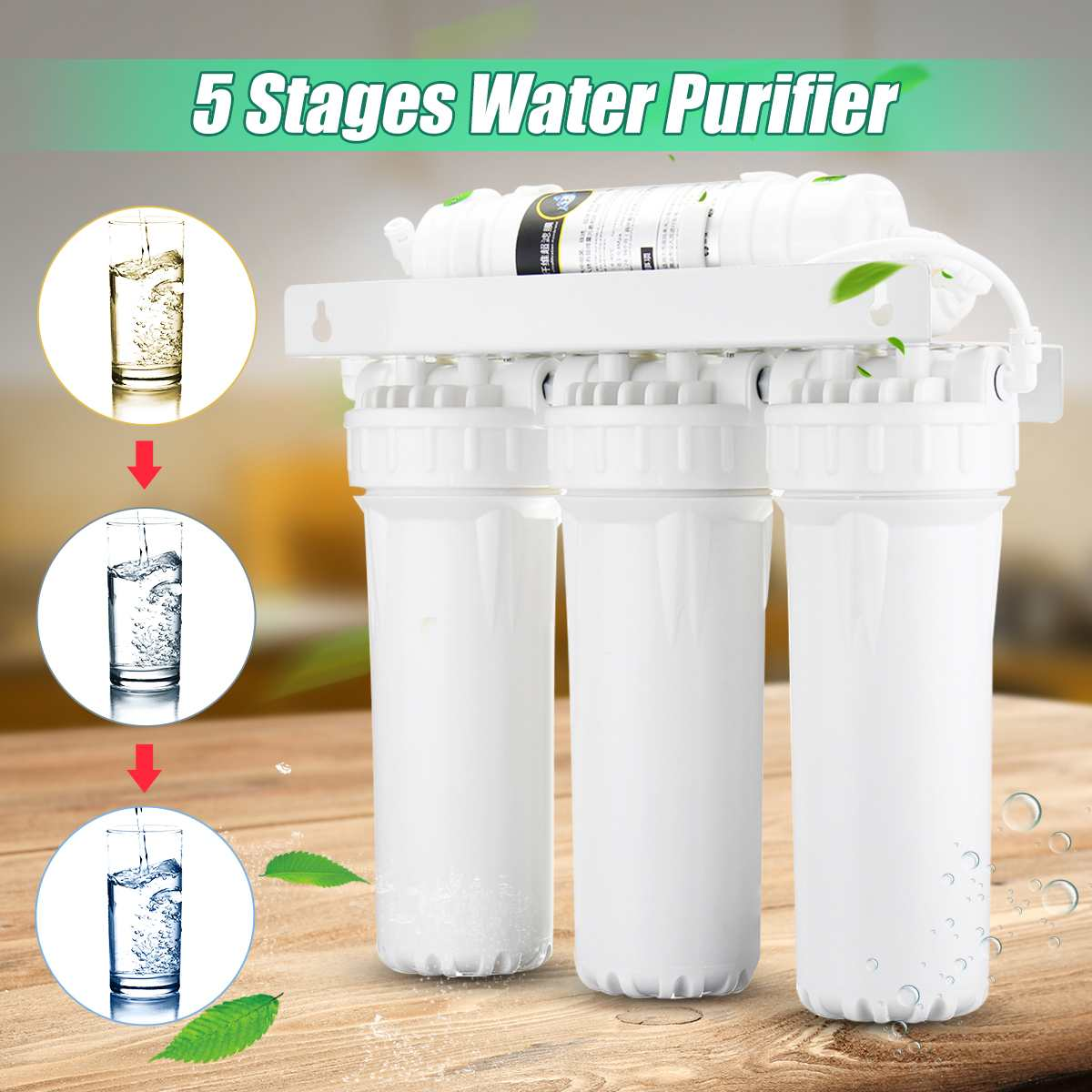 5 Ultra Filtration System UF Home Purifier Drinking Water Filters Faucet Household Ultra Filtration Water Filter Kitchen