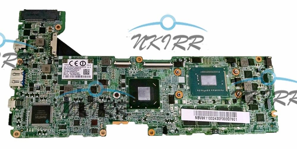 DAEE3MB1AE0 DAEE3MB1AC0 NBM8N11001 NB M8N11.001 i3-3229Y HM77 2GB RAM DDR3 placa base para Ultrabook P3-171 P3-131