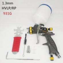 Hvlp/rp 스프레이 farbe 총 1.3mm 에어 브러시 에어리스 spritzpistole für malerei 자동 pneumatische werkzeug luft pinsel 분무기