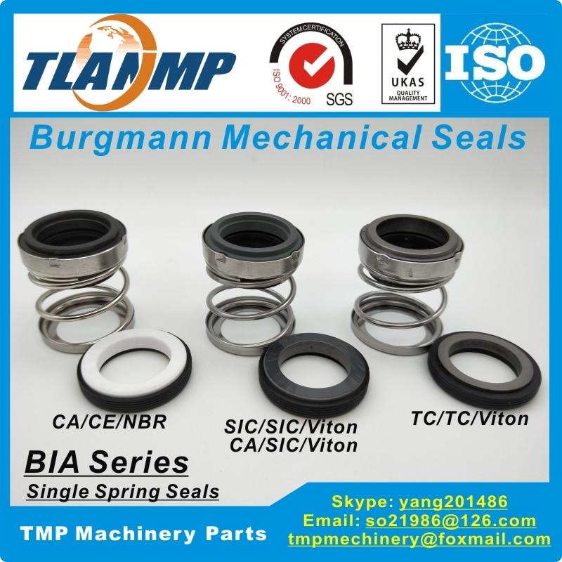 BIA-55 BIA/55 juntas mecánicas Burgmann-Goma debajo del sello de la bomba de agua (MaterialCA-CE-NBR, CA-SIC-VIT, SIC-SIC-VIT, TC-TC-VIT)