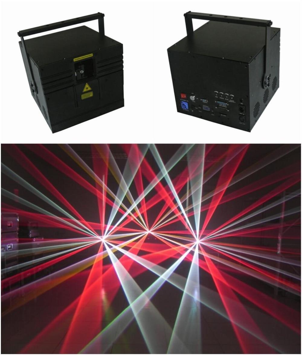 RGB 5 Вт лазерная Анимация шоу Дискотека освещение для сцены клубный бар Вечеринка вечеринка Свадьба 5000 МВт оборудование lazer приспособление ...