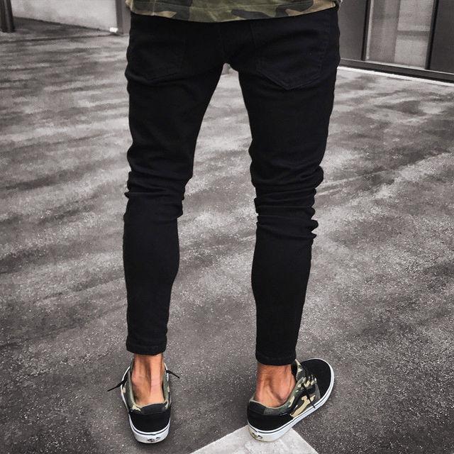 NEW Distressed Skinny Fashion Jeans 8