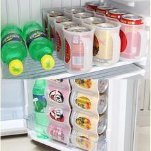 4 löcher Trinken Flasche Halter Durable Bier Soda Koks Trinken Kann Lagerung Box Kühlschrank Kälte Küche Organizer Lebensmittel Container