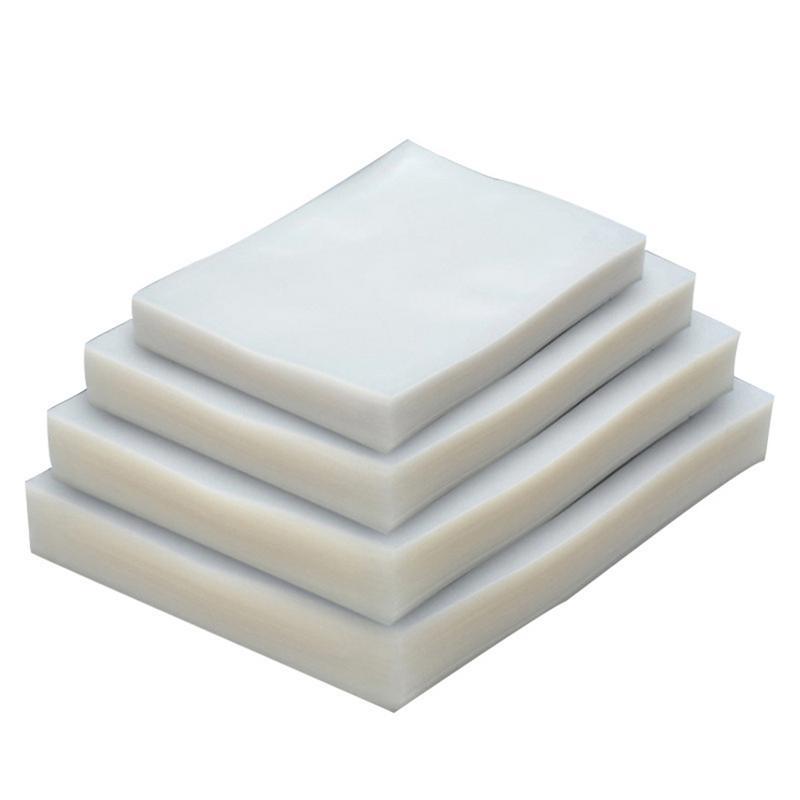 100 pçs/lote Aferidor Do Vácuo de Alimentos Saco de Vácuo Sacos De Vácuo para a Máquina de Embalagem Sacos de Embalagem de Alimentos Sous Vide # 4O
