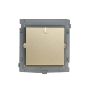 CHINT Electric Luxurious Full Series 86 Type Wall Switch Socket Light Champagne Gold Five Hole One Open Modular