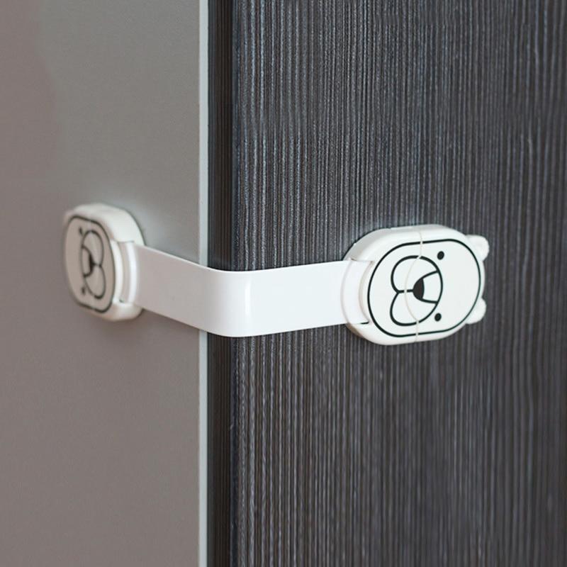 Produits de protection de sécurité enfants   Serrure de sécurité pour enfants, verrou de toilette, serrure à tiroir pour réfrigérateur