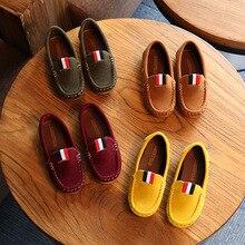 Enfants chaussures petit garçon mocassins enfant en bas âge pour enfants chaussures plates fond souple Anti pantoufle semelle Mini Melissa chaussures pour bébé filles loisirs
