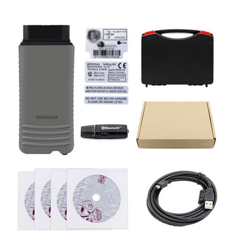 Instrumento de diagnóstico de coche Bluetooth VAS 5054A ODIS V4.4.10 para VW para Audi para Skoda para Seat Bentley para Lamborghini para hombre