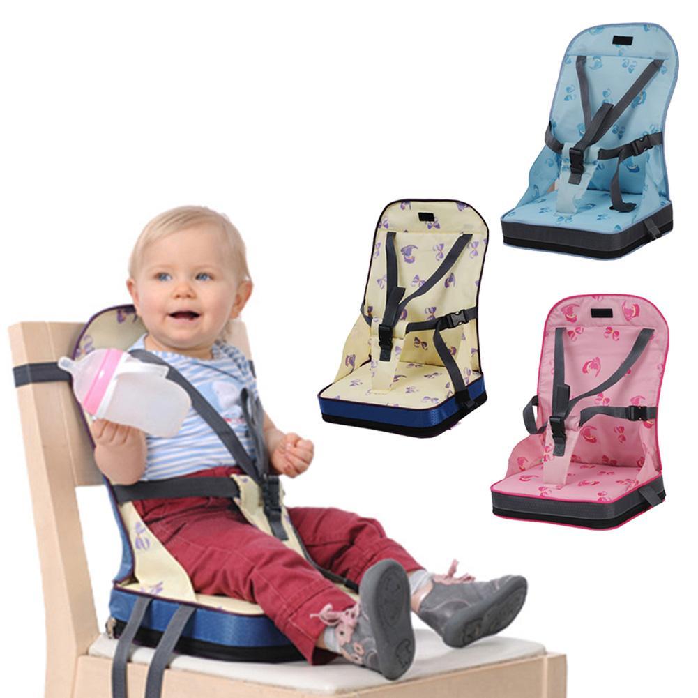 Bolsa de silla de comedor plegable de alta calidad para bebés, silla portátil, silla de comedor portátil, bolsa de momia con babero, Organizador