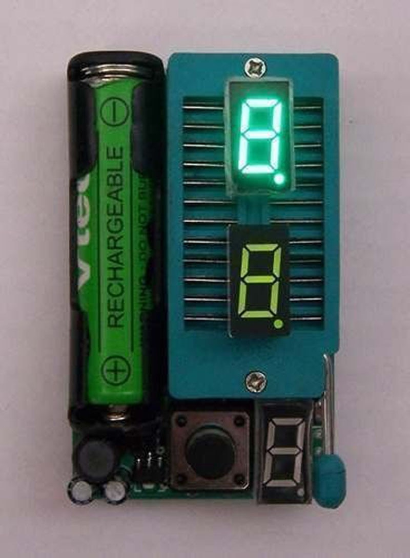 Probador IC DYKB, probador de circuito ntegrated, medidor de prueba optoacoplador LM339/probador LED, prueba USB 74HC 74LS CD4000 HEF400 4500