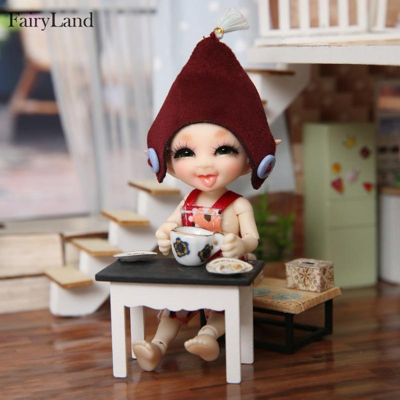 Realpuki Sira BJD poupées 1/13 longues oreilles sourire amusant Unique excentrique haute qualité jouet pour les filles meilleurs cadeaux FL Fairyland