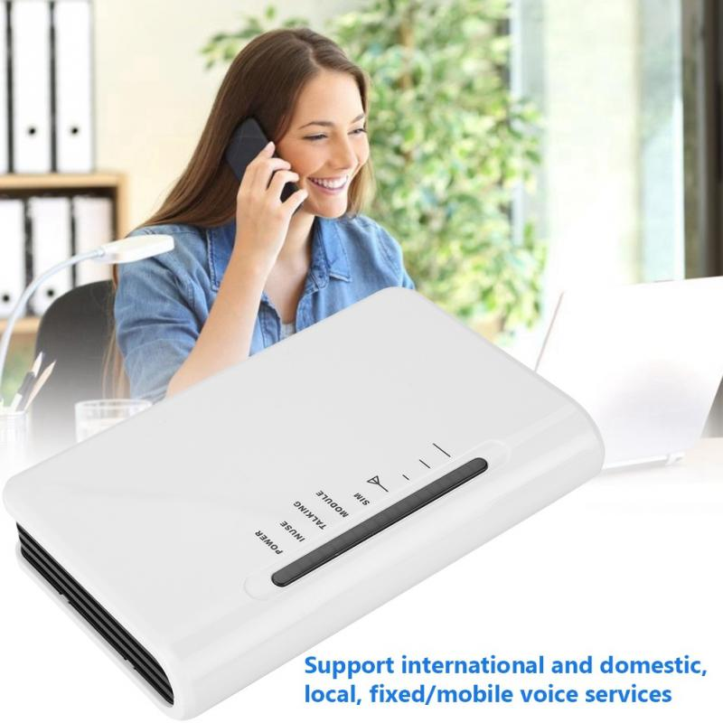 Terminal inalámbrico fijo LED mundial Quad-band GSM 850/900/1800/1900MHz alarma función IP automática 100-240V Gran oferta
