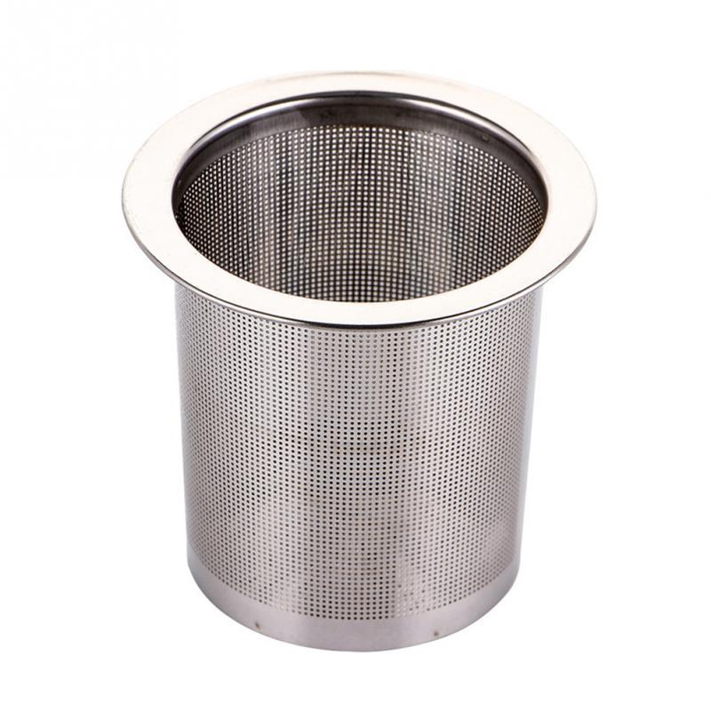 Нержавеющая сталь для заварки чая Серебряная сетка кухонные аксессуары безопасный фильтр для чая для повторного использования принадлежности для травяного чая #137