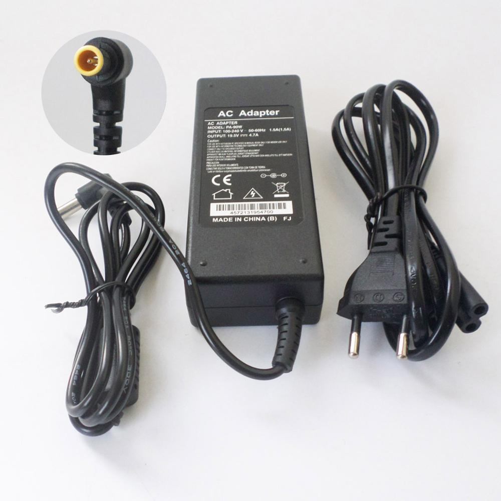 19,5 4.7A cargador de batería de portátil AC adaptador para Sony Vaio VGN-CR11S VGN-CR11Z SA45EC SA47GC CA1S1C VGP-AC19V28 cable de alimentación