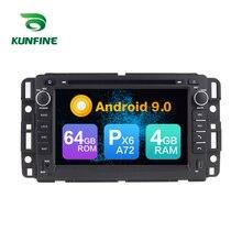 Android 9.0-lecteur DVD multimédia GPS A72   Android, Core PX6 A72 Ram Rom 4 go 64 go, lecteur de DVD multimédia, autoradio pour GMC Chevrolet Tahoe radio headunit