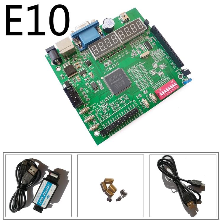 Usb blaster + EP4CE10E22C8N altera fpga плата разработки cyclone IV плата