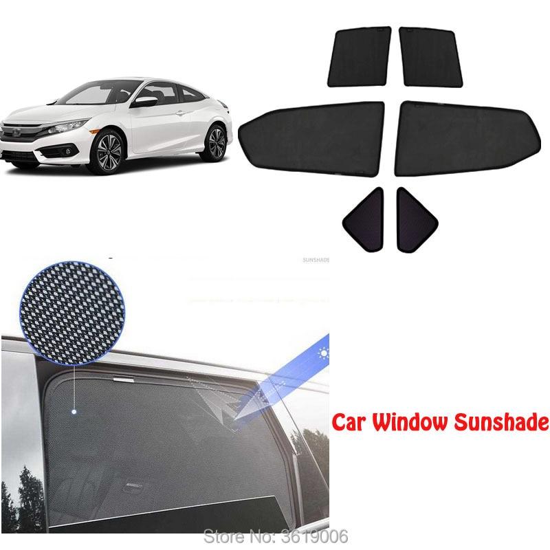 6 pces high-end personalizado para honda odyssey 2015-18 tipo de cartão magnético cortina de carro sombra de sol janela do carro estilo do carro