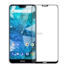 3D Front Tempered Glass For Nokia 7.1 Full Cover Guard 9H Protective film Screen Protector For Nokia