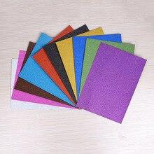Papier pailleté sans colle et poudre off A4 paillettes or fait main bricolage matériel papier décoratif 10 pec/lot