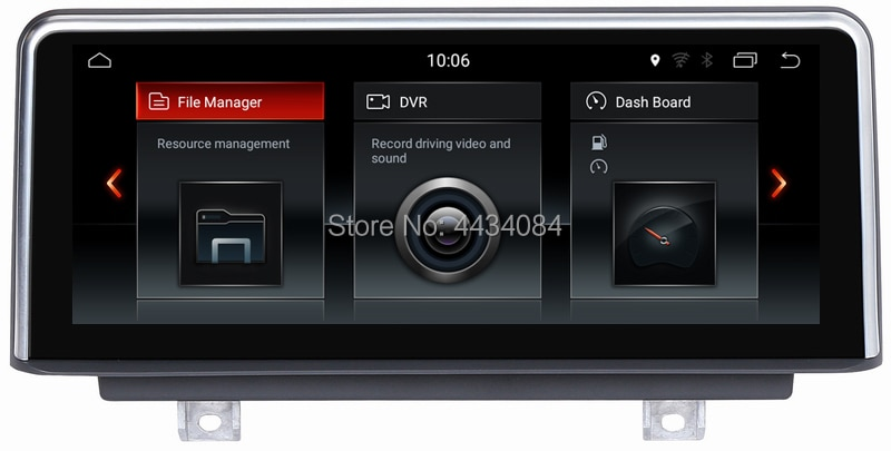 Ouchuangbo auto audio estéreo android 9,0 gps navi para F20 F21 NBT 2013-2016 con BT USB 4GB RAM 64GB ROM octa 8 core ID6