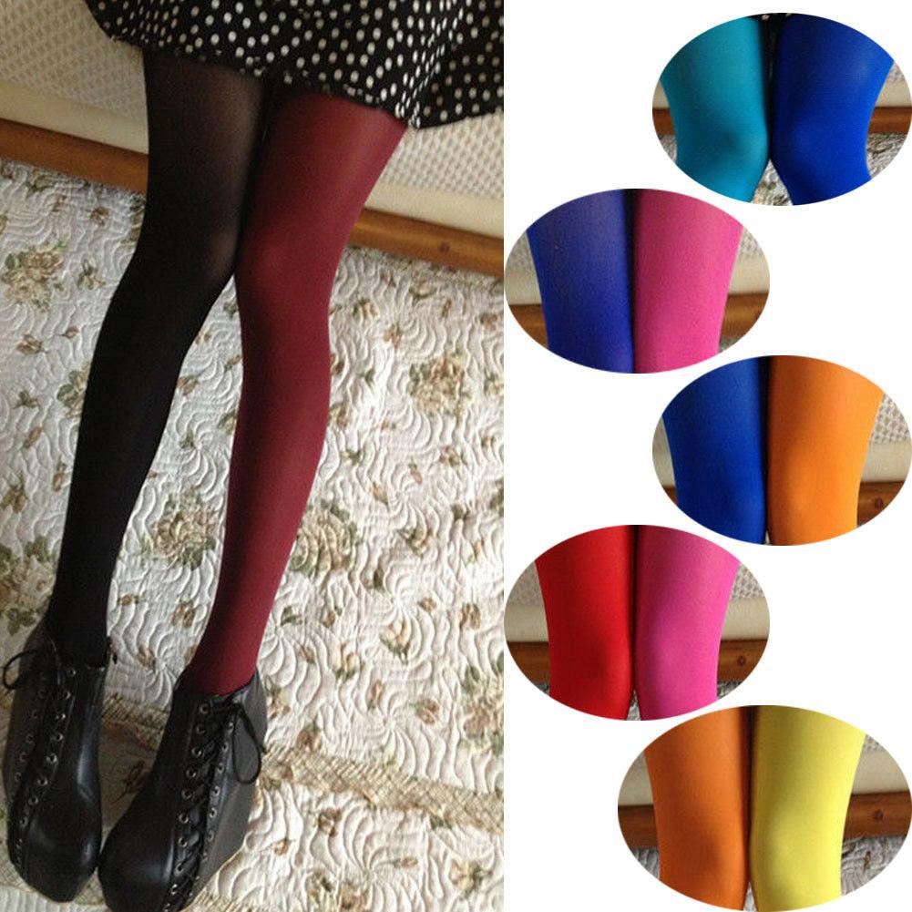 ¡Novedad de 2019! medias con zona para el pie de retales elásticas KLL calcetín sólido de dos colores