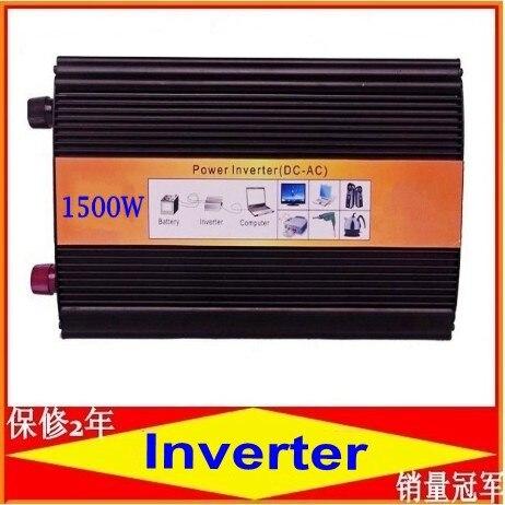 3000 W 1500 W 12 v dc 230vac inversor de corriente sinusoidal pura de 1500 vatios 12 voltios a 230 voltios inversor de enchufe universal de 50/60 hz