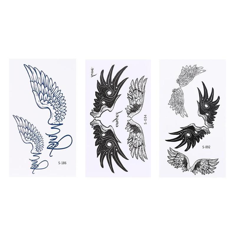 Tatuaje temporal resistente al agua pegatina del tatuaje de la onda del amor del cuerpo pegatinas de tamaño pequeño tatto flash tatuajes falsos para las mujeres de la muchacha