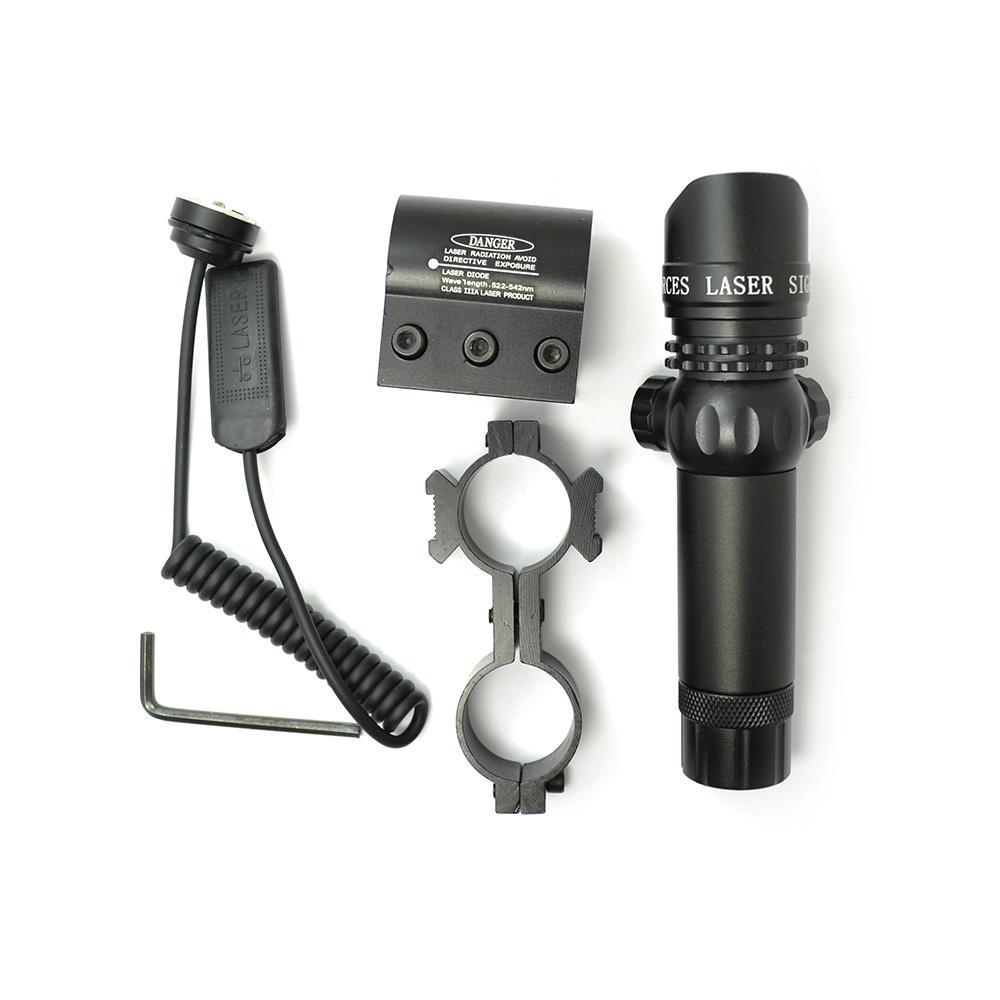 Scope-808-100-GD 808nm 100mw infrarrojo IR punto pistola de visión láser/Rifle alcance