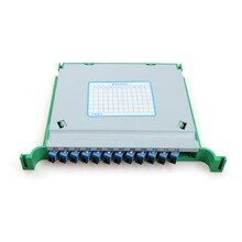 3pcs Fiber Optic Splice Tray MINI 21CM SC 12 Core FTTH Fusion APC ODF Cabinet Distribution Integrated module factory wholesale