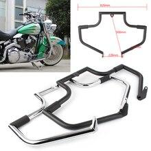 Motorcycle Crash Bar Engine Guard Protector Voor Harley Davidson Flstc Softail Heritage Classic Modellen 2000-2017 Behalve Springer