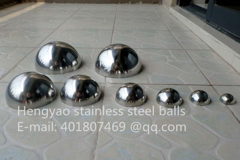 Silver Dia 80mm 8cm 201 stainless steel hollow hemispherical polished mirror elevator decorative hemisphere steel tube cover 80sets stainless steel mirror nail decorative screw cover caps hotsale with factory price 16mm
