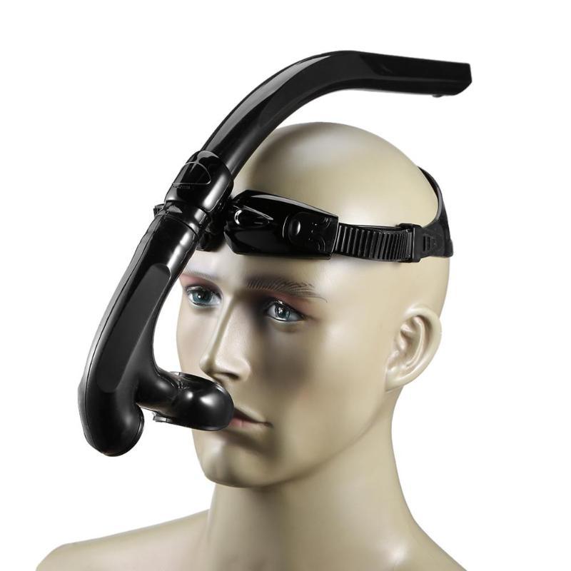 Profissional adultos natação mergulho snorkeling silicone tubo de respiração de ar seco completo tubo de respiração de ar seco