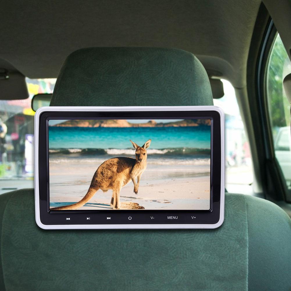 10.1in внешний автомобильный dvd-плеер дисплей цветной ЖК-цифровой экран сенсорная кнопка araba aksesuar авто аксессуары подголовник монитор