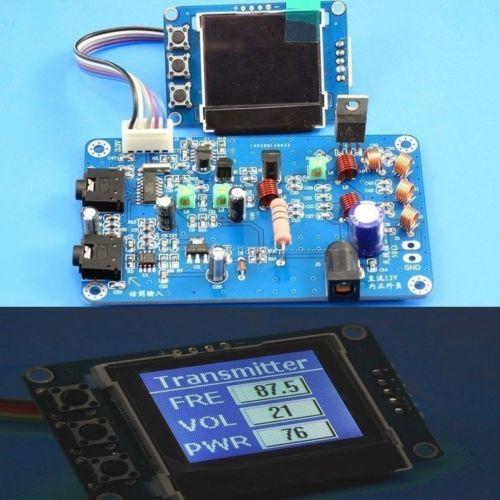 Fm-передатчик 5 Вт-7 Вт, радиостанция PLL, стерео цифровые наборы частоты + ЖК-цифровой дисплей