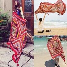India Hippie tapiz playa tiro toalla Yoga estera chales bohemios abrigos bufandas al por mayor