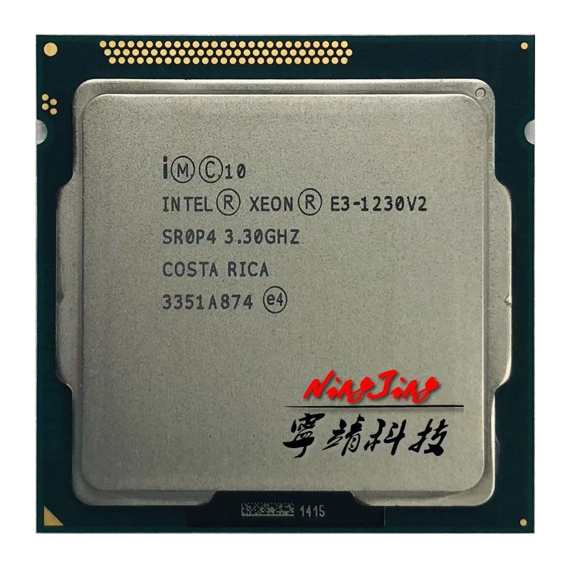 Intel Xeon v2 E3-1230 E3 E3 1230v2 1230 v2 3.3 GHz Quad-Core Processor CPU 8M 69W LGA 1155