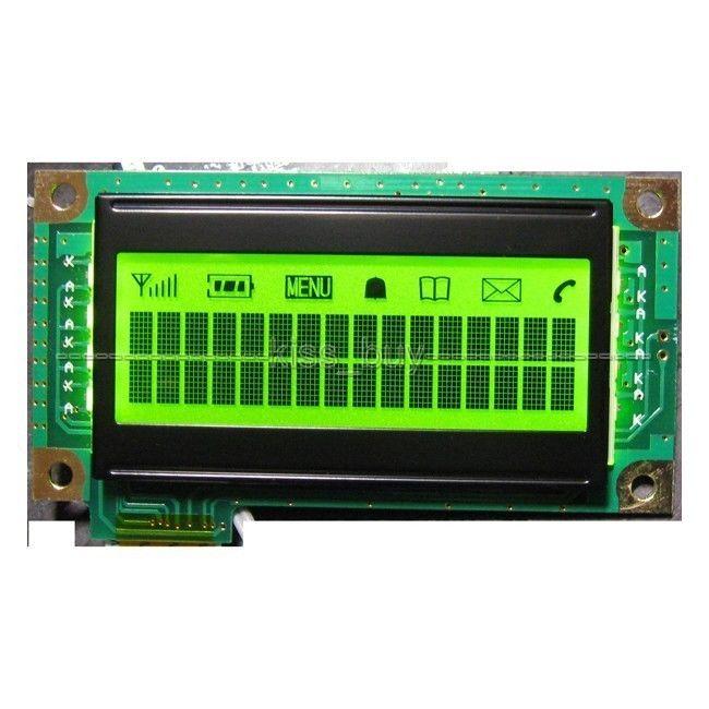 1602 LCD with backlight input 3.3-5v for Master chip ks0074,